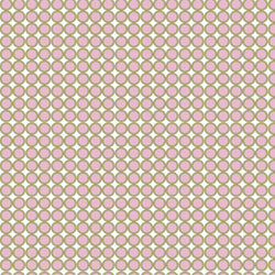 Pattern Photo Backdrop - In-line Circles Pink & Cream Backdrops SoSo Creative