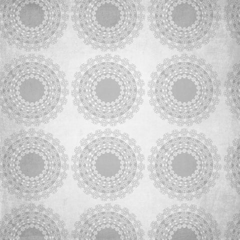 Pattern Backdrop Koloksaifloral Gray