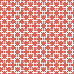 Pattern Photo Backdrop - Links in Coral Backdrops SoSo Creative