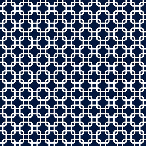 Pattern Photo Backdrop - Links in Navy