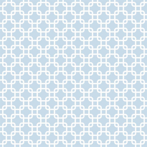 Pattern Backdrop Links in Sky Blue