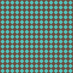 Pattern Photo Backdrop - Quatrefoil in Brown & Turquoise Backdrops SoSo Creative