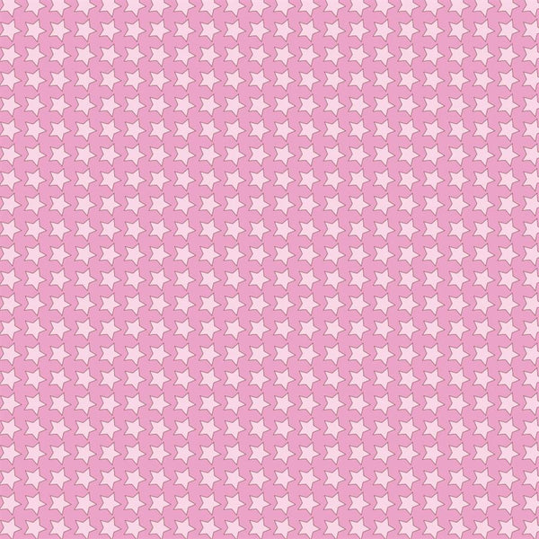 Pattern Photo Backdrop - Star Power in Pink