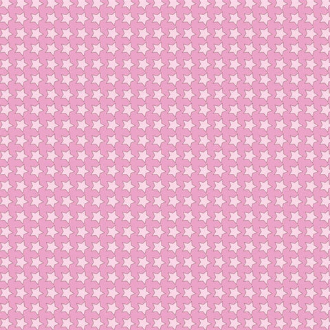 Pattern Photo Backdrop - Star Power in Pink Backdrops SoSo Creative