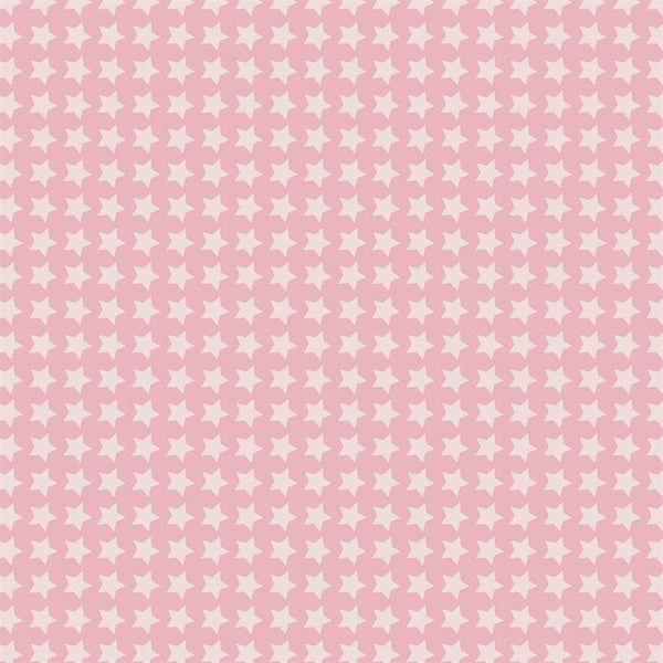 Pattern Photo Backdrop - Star Power in Sweet Pink