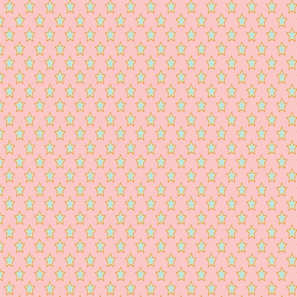 Pattern Photo Backdrop - Superstars Pink & Green Backdrops SoSo Creative