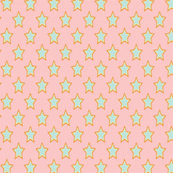 Pattern Photo Backdrop Superstars - Pink & Green Super Size Backdrops SoSo Creative