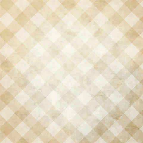 Pattern Photo Backdrop - Vintage Checked Wallpaper