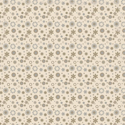 Pattern Backdrop Wild Floral Taupe