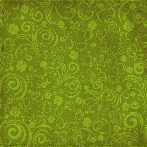 St. Patrick's Day Backdrop Pattern Grunge