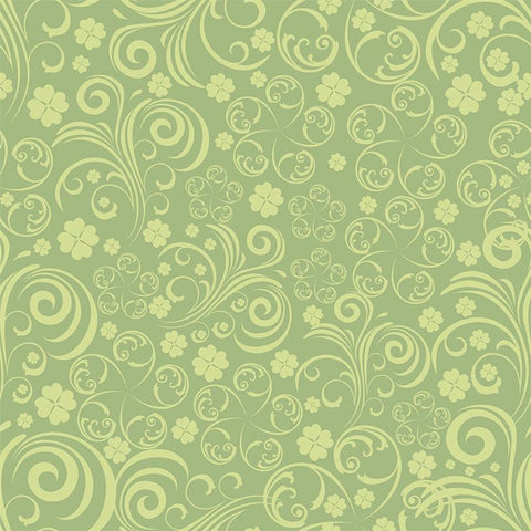 St. Patrick's Day Backdrop Pattern Light