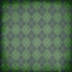 St. Patrick's Day Backdrop Plaid Grunge
