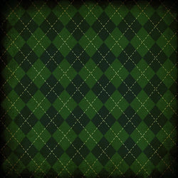 St. Patrick's Day Backdrop Plaid Dark Grunge