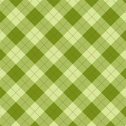St. Patrick's Day Backdrop Plaid Light