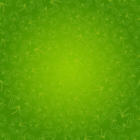 St. Patrick's Day Photo Backdrop - Shamrocks Spiro Backdrops,Whats New Wednesday! SoSo Creative