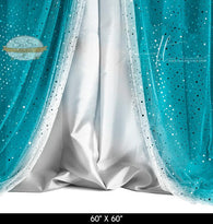 Sequin Tiffany Silver Photography Backdrop