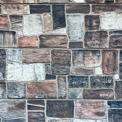 Stone Photo Backdrop - Patchwork