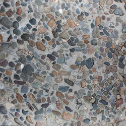 Stone Backdrop Floordrop Pebble Beach