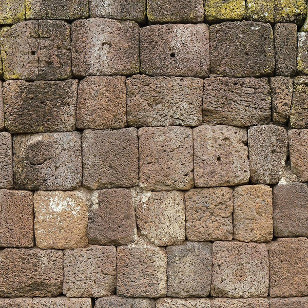 Stone Photo Backdrop Stacked Blocks