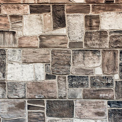 Stone Photo Backdrop - Warm Patchwork