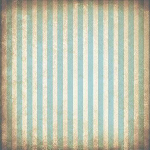 Striped Photo Backdrop - Grungy Blue