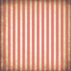 Striped Photo Backdrop - Grungy Coral