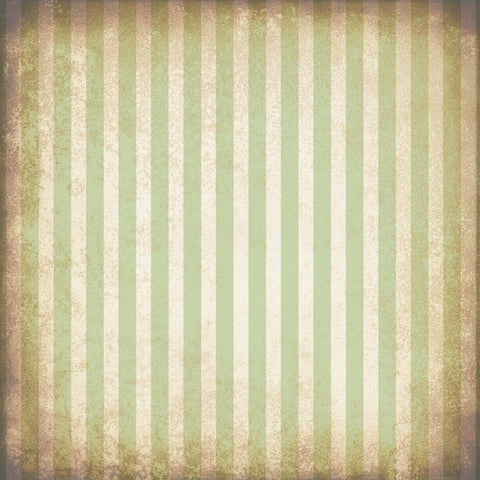 Striped Photo Backdrop - Grungy Green