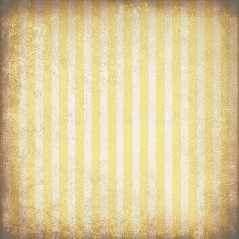 Striped Photo Backdrop - Grungy Yellow