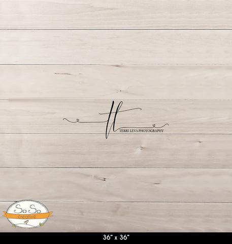 Photography Backdrop Terri Boards(4) - Cream Barnwood