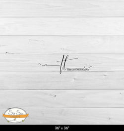 Photography Backdrop Terri Boards(6) - White Barnwood