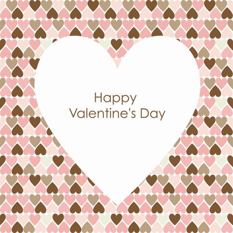 Valentine Photo Backdrop - Happy Valentine's Day in Pink