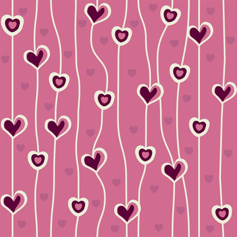 Valentine Photo Backdrop - Heart Vines Backdrops SoSo Creative
