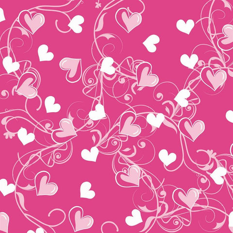 Valentine Photo Backdrop - Hearts Flourish Backdrops SoSo Creative