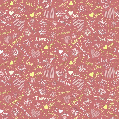 Valentine Backdrop Peachy Love