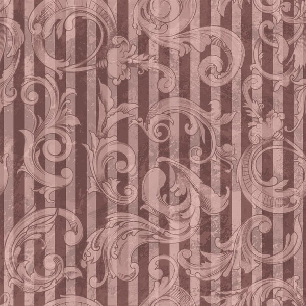 Photo Backdrop - Acanthus Scrapbook in Pink