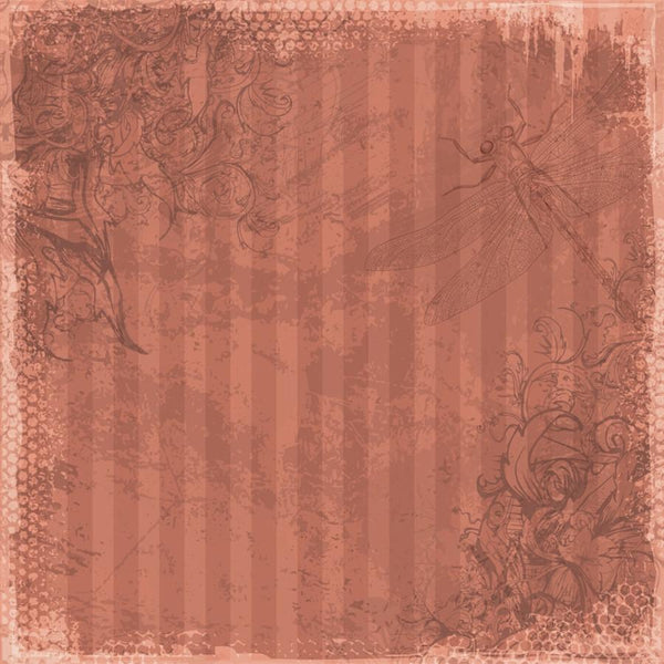 Photo Backdrop - Dragonfly Scrapbook in Pink Backdrops,Whats New Wednesday! SoSo Creative