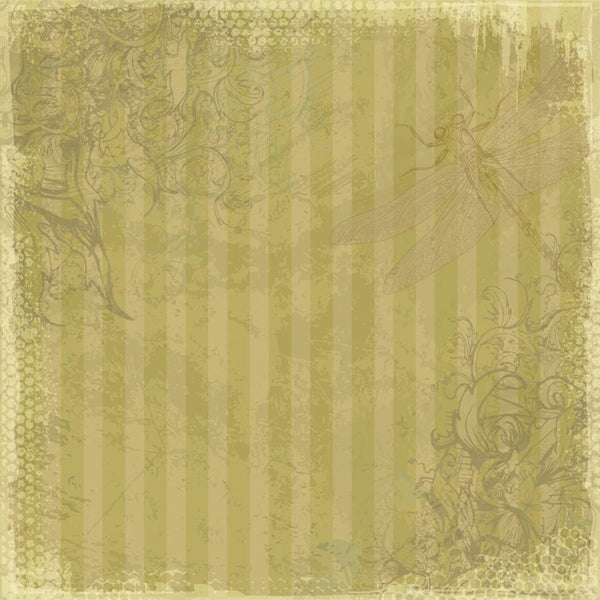 Photo Backdrop - Dragonfly Scrapbook in Yellow Backdrops,Whats New Wednesday! SoSo Creative