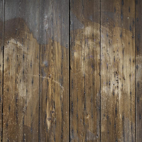 Wood Backdrop Floordrop Burnt Sienna Floor
