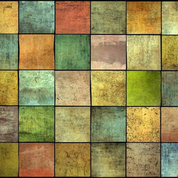 Wood Photo Backdrop - Multicolor Patchwork Barnwood Backdrops vendor-unknown