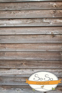 Wood Photography Backdrop - Neutral Grain Barnwood Backdrops vendor-unknown