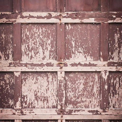 Wood Photo Backdrop - Ruby Barn Door (Vertical)