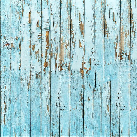 Wood Photo Backdrops - Rustic Blue Barnwood Backdrops vendor-unknown