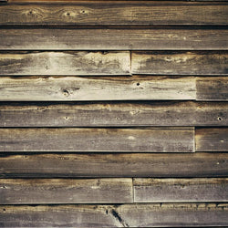 Barnwood Photo Backdrop - Tangerine Grain