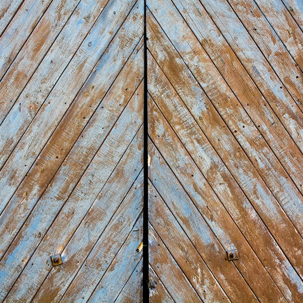 Wood Photography Backdrop Weathered Blue Barnwood