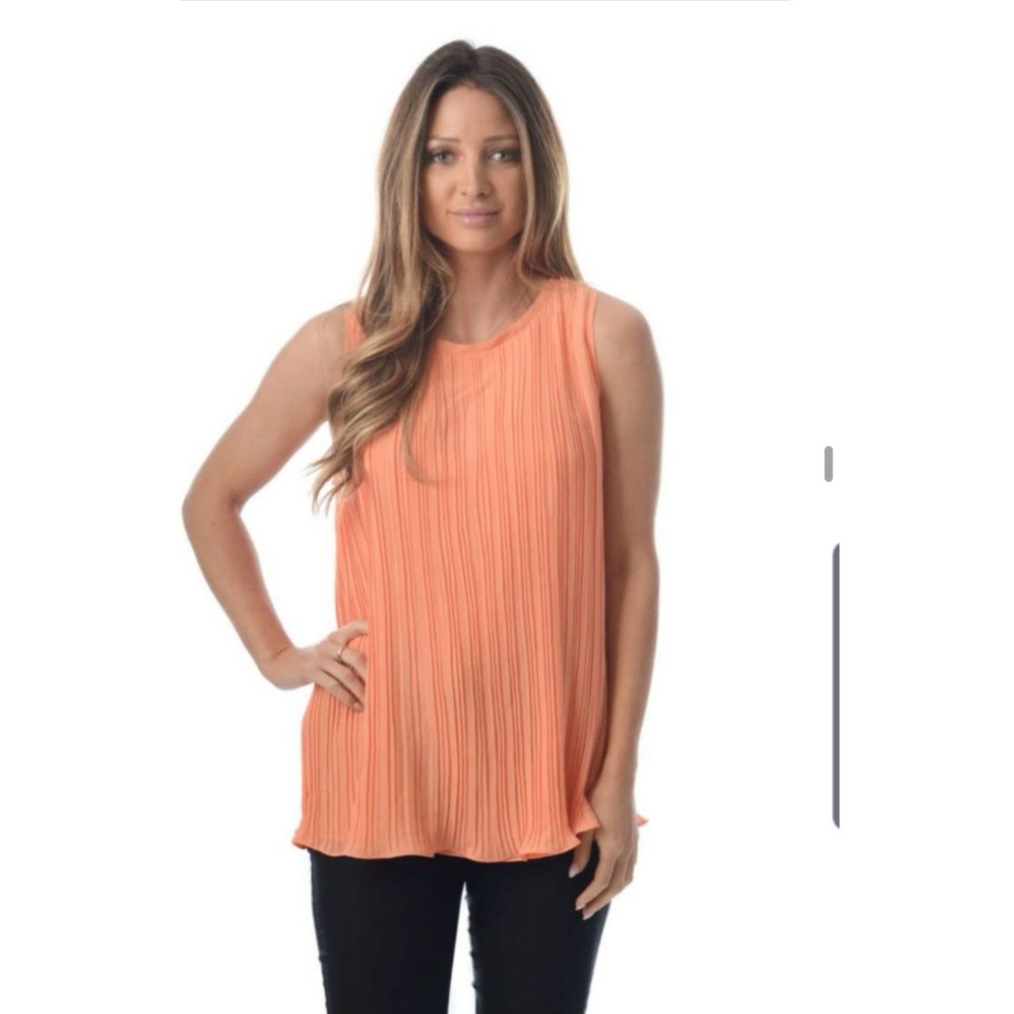 Lexi Pleated Top