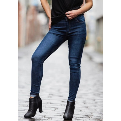 Chelcie dark denim jean
