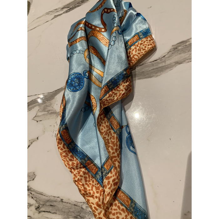 Printed Hair Scarves