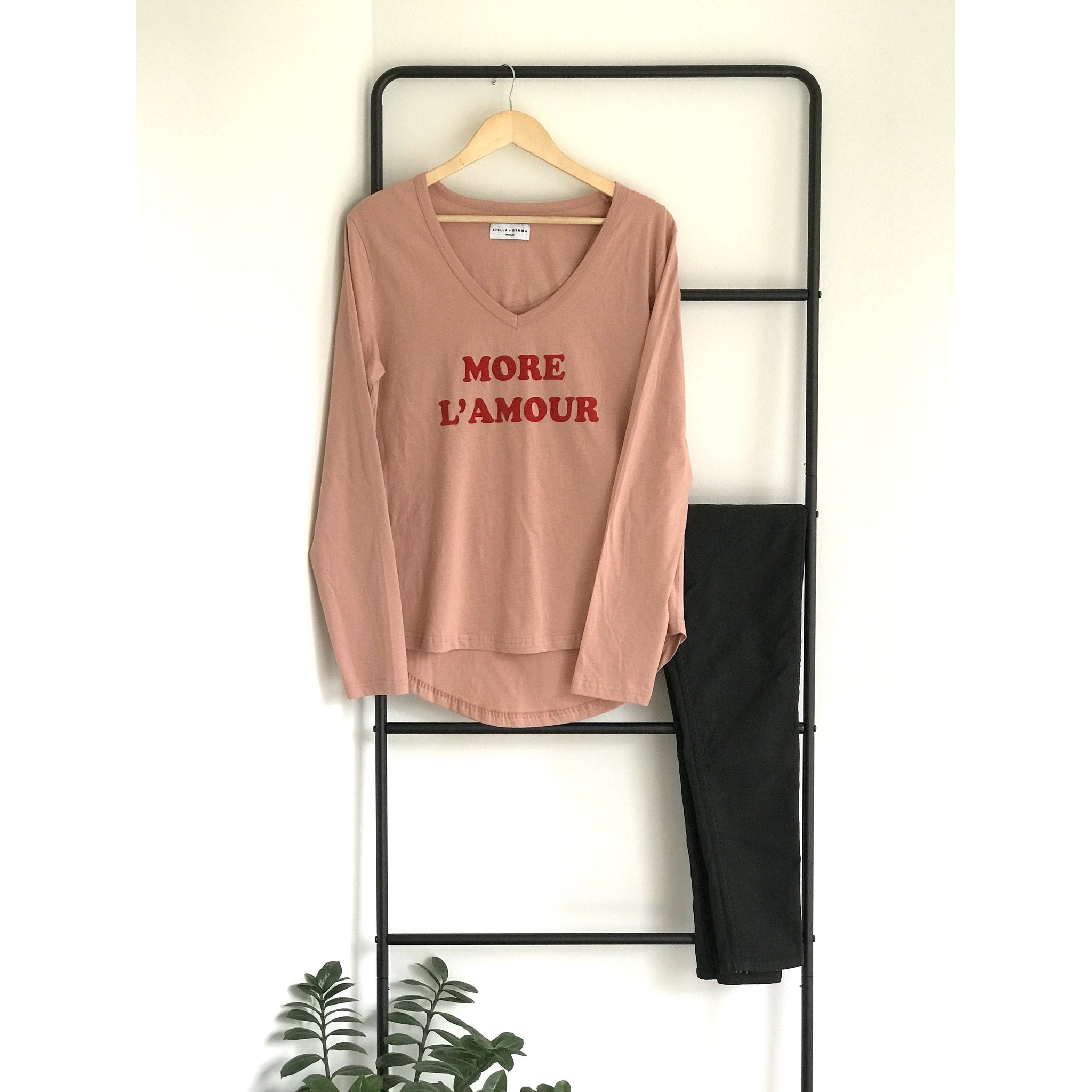 More L' Amour Long sleeved tee