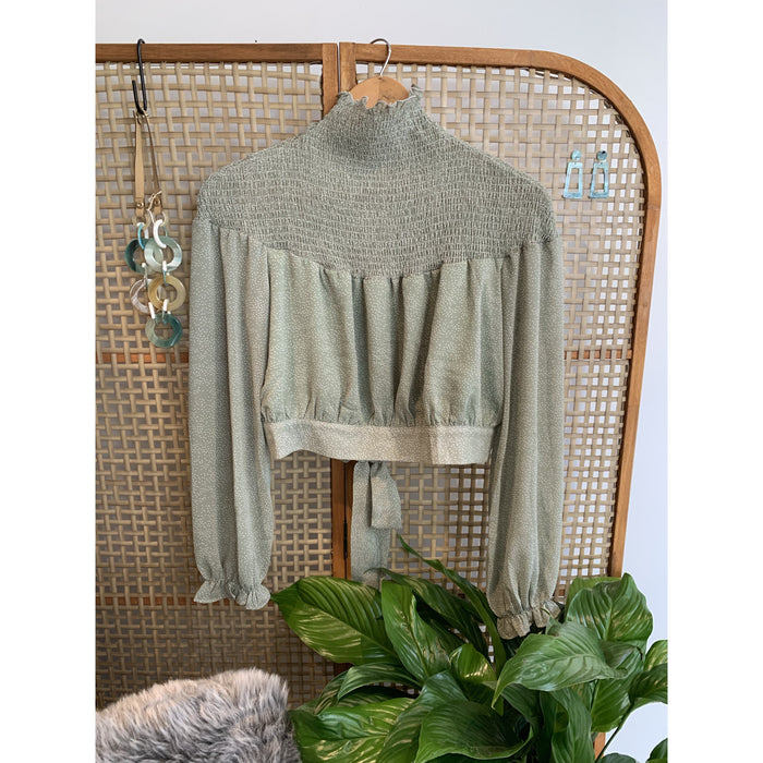 Monique Turtle Neck blouse