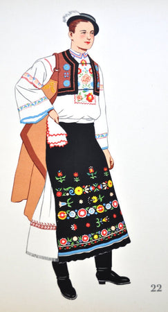 andre varagnac's national costumes